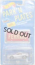 PARK'N PLATES 【FERRARI TESTAROSSA (2048)】 SILVER/UH (RED INTERIOR)