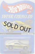2010 RLC REWARDS CAR SUPER CHROMES 【CUSTOM MUSTANG】 GOLD CHROME/RL