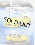 2010 SPEED MACHINES 【FERRARI 612 SCAGLIETTI】 YELLOW/A6