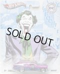 2011 NOSTALGIC BRANDS - DC COMICS 【'56 CHEVY NOMAD】 MAGENTA/RR (THE JOKER)