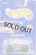 【BLAZER 4X4】 BLUE GRAY/BLACK CT(RARE WHEELS)
