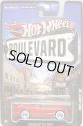 2012 HW BOULEVARD 【1955 CORVETTE】 RED/RR (NEW CAST)