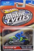2012 MOTOR CYCLES 【TRI & STOP ME】 LT.GREEN
