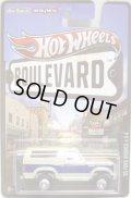 2013 HW BOULEVARD 【'85 FORD BRONCO 4X4】 CREAM/RR (NEW CAST)