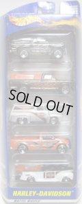 2001 5PACK 【HARLEY DAVIDSON】 Bronco 4-Wheeler/1979 Ford Truck/'56 Ford Truck/Ford F-150/'40 Ford Truck