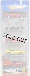 2009 FERRARI 5 PACK 【599 GTB, F355 SPIDER, 550 MARANELLO, 365 GTB/4, 456M】