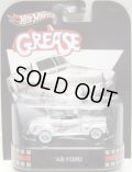 2013 RETRO ENTERTAINMENT 【'48 FORD】 WHITE/RR (GREASE/グリ-ス) (NEW CAST)