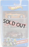 2013 HOT WHEELS 3 【TOYOTA SUPRA/'69 DODGE CHARGE/PASS'N GASSER(EX)】