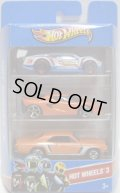 2013 HOT WHEELS 3 【'SUPER BLITZEN/LOTUS M250/'67 CHEVELLE SS 396(EX)】