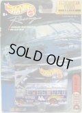 2000 HOT WHEELS RACING SCHOOL BUS SERIES【#44 TEAM HOT WHEELS】 RACE TEAM BLUE/GY BW