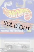 【FERRARI F512M】 SILVER/5SP (98 RED CAR CARD)