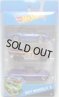 2014 HOT WHEELS 3 【1985 CHEVROLET CAMARO IROC-Z(EX)/???(?)/'65 FORD RANCHERO(EX)】