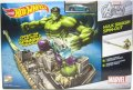 2014 HW MARVEL AVENGERS ASSEMBLE 【HULK SMASH SPIN-OUT】 included ABOMINATION CAR