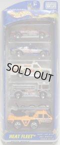 2001 5PACK 【HEAT FLEET】 Oldsmobile Aurora / Police Car / Rescue Ranger / Fire Eater / Flame Stopper