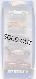 2007 5PACK 【HOT WHEELS 5】 Lancia Stratos / Midnight Otto / Toyota Celica / Ford Focus / Chevy Pro Stock Truck