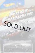 2015 WALMART EXCLUSIVE - FAST & FURIOUS (ワイルドスピード)【'70 DODGE CHARGER】 FLAT BLACK/PR5 (マットブラック・リアサイドにTAMPO)