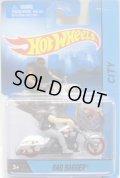 2015 MOTOR CYCLES 【BAD BAGGER】 WHITE