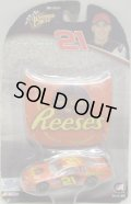 "2004 ACTION - NASCAR WINNER'S CIRCLE 【""#21 REESE'S"" CHEVY MONTE CARLO】 ORANGE (with 1/24 RACE HOOD)"