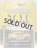 2015 RETRO ENTERTAINMENT 【'74 CHECKER TAXI CAB】 YELLOW/RR (TAXI) (NEW CAST)