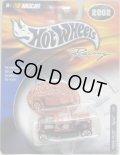 2002 HOT WHEELS RACING 【#45 TEAM SPRINT HOOLIGAN】 RED-BLACK/5SP