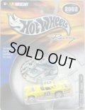 2002 HOT WHEELS RACING 【#15 TEAM NESQUIK '57 T-BIRD】 YELLOW/RR