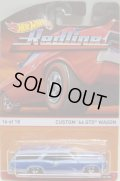 2016 HW HERITAGE - REDLINE 【CUSTOM '66 GTO WAGON】 LT.BLUE/RL