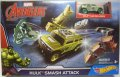 2016 HW MARVEL AVENGERS 【HULK SMASH ATTACK】 included HULK CAR