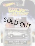 2016 RETRO ENTERTAINMENT 【BACK TO THE FUTURE TIME MACHINE】 SILVER/RR (BACK TO THE FUTURE)