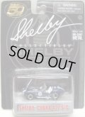 "SHELBY COLLECTIBLES  ""50TH ANNVERSARY""【SHELBY COBRA 427 S/C】 BLUE/RR"
