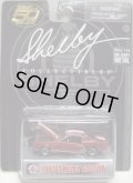"SHELBY COLLECTIBLES  ""50TH ANNVERSARY""【1965 SHELBY GT350R】 RED/RR"