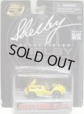"SHELBY COLLECTIBLES  ""50TH ANNVERSARY""【SHELBY COBRA 427 S/C】 YELLOW/RR"