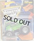 2016 MONSTER JAM includes STUNT RAMP! 【GRAVE DIGGER】 LT.GREEN (2016 NEW LOOK!)