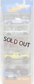 2016 5PACK 【HOT TRUCKS】'83 Chevy Silverado / Nissan Titan / 2009 Ford F-150 / '10 Toyota Tundra / '49 Ford F1