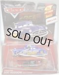 2015 DISNEY CARS -  DELUXE 【FABULOUS DOC HUDSON WITH STAND】 BLUE