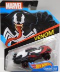 2017 HW MARVEL 【VENOM】 BLACK/OR6SP (2017 CARD)