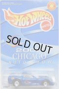 2000 CHICAGO AUTO SHOW EXCLUSIVE 【'97 CORVETTE】 BLUE/RR