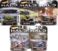 "2017 RETRO ENTERTAINMENT 【Bアソート ""HALO (ヘイロー)"" 5種セット】UNSC SCORPION/UNSC WARTHOG/UNSC GUNGOOSE/BANISHED WRAITH/COVENANT GHOST"