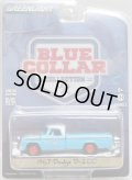 2017 GREENLIGHT BLUE COLLAR COLLECTION S2 【1967 DODGE D-200 (GRUMP'S GARAGE)】 LT.BLUE/RR