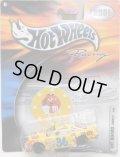 "2001 HOT WHEELS RACING ""PIT BOARD""【#36 TEAM M&M'S PONTIAC GRAND PRIX】 YELLOW/RR"