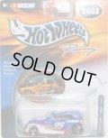 2002 HOT WHEELS RACING 【#99 TEAM CITGO PHAETON】 BLUE/SB