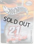 "2001 HOT WHEELS RACING ""PIT BOARD""【#21 TEAM MOTORCRAFT FORD TAURUS】 RED/RR"
