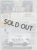 "2017 GREENLIGHT HOBBY EXCLUSIVE 【""NYPD"" 2016 FORD POLICE INTERCEPTOR UTILITY (included DECAL SHEET!)】 WHITE/RR"