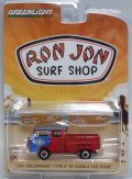 "2017 GREENLIGHT ""RON JON SURF SHOP"" STORE EXCLUSIVE 【1968 VOLKSWAGEN TYPE 2 T2 DOUBLE CAB PICKUP】 RED/RR"