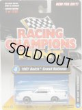 2017 RACING CHAMPIONS MINT COLLECTION R2B 【1987 BUICK GRAND NATIONAL】 WHITE/RR (1256個限定)