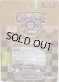 1998 RACING CHAMPIONS - 50th ANNIVERSARY NASCAR 【1958】 BLACK/RR