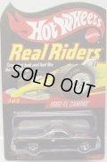 2009 RLC REAL RIDERS 【1980 CHEVY EL CAMINO】 SPEC.SMOKE/RR