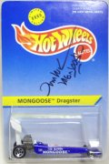 M&D TOYS EXCLUSIVE 【MONGOOSE DRAGSTER】 BLUE/5SP (サイン付き)