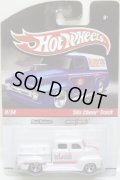 HOT WHEELS DELIVERY 【'50s CHEVY TRUCK】 WHITE/RR
