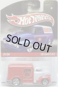 HOT WHEELS DELIVERY 【'49 FORD C.O.E.】 WHITE-RED/RR
