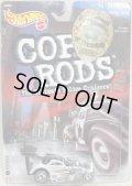 2000 K・B TOYS EXCLUSIVE COP RODS 2 【FIAT 500C】 BLACK-WHITE/RR